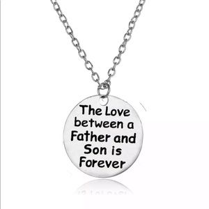 Jewelry - Father and son necklace